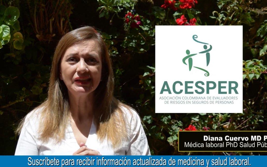Enfermedades Laborales Directas e Indirectas – Phd. Diana Cuervo